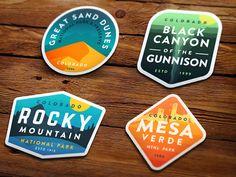 Colorado 4 Pack by Alex Eiman #Design Popular #Dribbble #shots