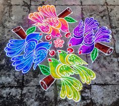 Indian Rangoli, Simple Rangoli, Rangoli Kolam Designs, Maturity, Jewelery, Dots, Birds, Drawings, Flowers