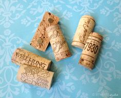 Wine Cork Magnets Set of 6 New Improved and by limefishshop