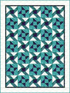 Free Quilt Patterns for Beginning to Experienced Quilters: Hula Twist Quilt Pattern