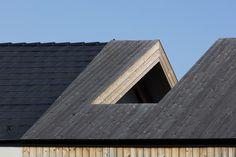Gallery of House in Kapuvár / László Papp - plémühely - 43 Wooden Cladding, House Built, House Extensions, Atrium, Stables, Skyscraper, Entrance, Multi Story Building, Architecture