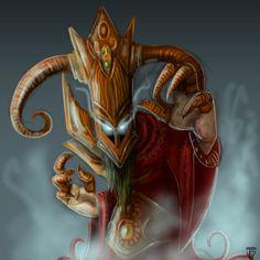 Evil Wizard by josesami.deviantart.com on @deviantART