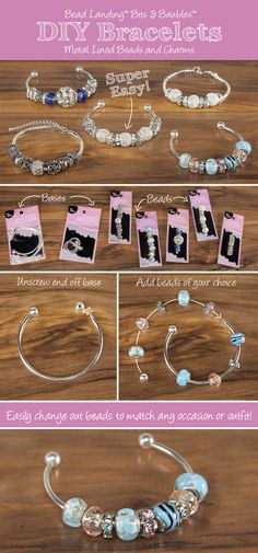 Bits and Baubles DIY Large Hole Bead Personalized Jewelry