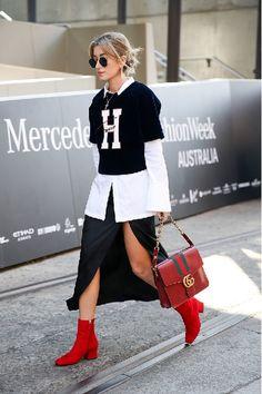 Street style на неделе австралийской моды в Сиднее 2016 год