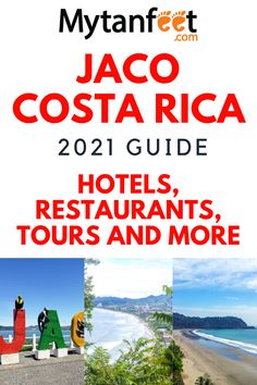 Costa Rica With Kids, Living In Costa Rica, Costa Rican Food, Costa Rica Travel, Jaco, South America Travel, Beach Town, Beautiful Places To Visit, Fun Activities
