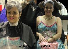 Katia Miyazaki Coiffeur - Salão de Beleza em Floripa: antes e depois - corte feminino - corte curto -  p...