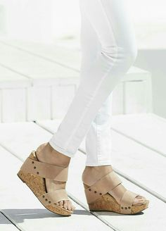 Platform cork wedges that are incredibly comfortable  e3375ccfb