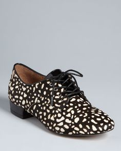DV Dolce Vita Lace Up Oxford Flats - Flynn | Bloomingdale's