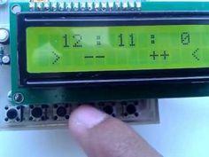 Jam Digital menggunakan mikrokontroler AVR