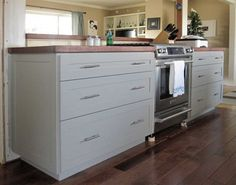 Plywood is one of the most affordable materials that you can use for DIY projects, and especially for building your own kitchen cabinets. Plywood is considered a sustainable building material that is strong and attractive. http://www.home-dzine.co.za/kitchen/diy-plywoodcab.htm#