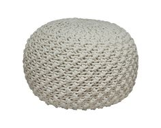 The Marina Pouf - Ivory from Urban Barn is a unique home décor item. Urban Barn carries a variety of New Accents and other  New furnishings.