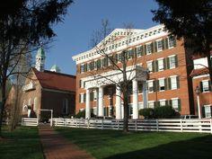 Salem College in Old Salem, NC