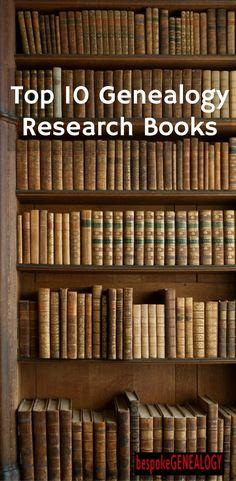 Top 10 Genealogy Research Books   Bespoke Genealogy