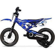 Kids Yamaha Bicycle Motocross 16 Inch Bmx Bikes Training Wheels Ride Race Gift