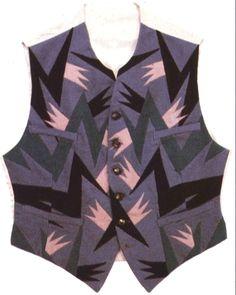 vest design by Fortunato Depero.