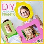 These fun frames are made from cardboard boxes. Use them to decorate a party or as photo props! These fun frames are made from cardboard boxes. Use them to decorate a party or as photo props! Cardboard Frames, Diy Cardboard, Birthday Party Games, Birthday Party Decorations, Cadre Photo Diy, Activities For Kids, Crafts For Kids, Party Frame, Melting Beads