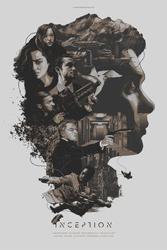 Inception by Grzegorz Domaradzki in Poster