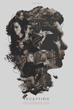 Inception by Grzegorz Domaradzki in Poster