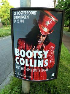 Bootsy Collins 7-6-14 (locatie Diamantlaan - Groningen)
