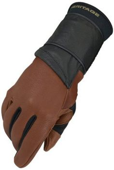 Heritage Pro 8.0 Bull Riding Glove (Saddle Brown) by Heritage. $17.81. The Heritage Pro 8.0 Bull Riding glove is the most technically advanced bull riding glove in the sport. This glove offers a custom fit with our durable North American Deerskin leather construction. This glove does it all and in anatomically shaped to your hand. No more need to tape your fingers and back of hands. No need to tape the glove to your wrist. It is designed specifically for the bull...