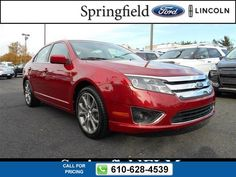 2012 Ford Fusion SEL 34k miles $17,777 34360 miles 610-628-4539 Transmission: Automatic  #Ford #Fusion #used #cars #SpringfieldFord #Springfield #PA #tapcars