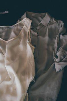 Everlane silk blouses