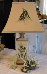 lily of the valley lamp - Google Search