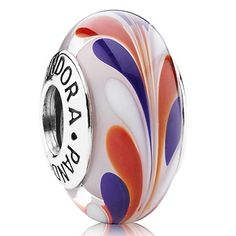 Pandora Silver Best of British Murano Glass Bead 790937 I want it, but have to wait for my stores to get it.