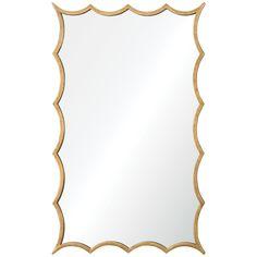 Uttermost Dareios Gold Mirror 12892