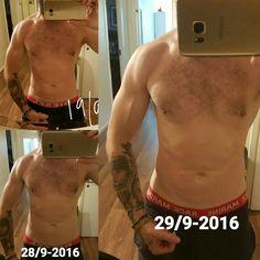 Workout progress 2