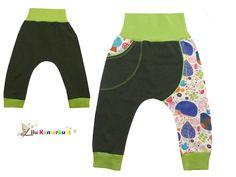 Pumphosen - Pumphose Baby Kind Wunschgröße 56-122 - ein Designerstück von Lilu-Kunterbunt bei DaWanda