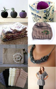Comfy Cozy Handmade Spring - 100% Self Taught Artist Team by Jenn G. #Etsy