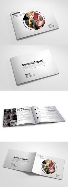 4 Pages Fashion Bi Fold Brochure Bi Fold Brochure, Brochure Template, Print Templates, Card Templates, Business Card Design, Creative Business, Promotional Design, Thank You For Purchasing, I Am Awesome