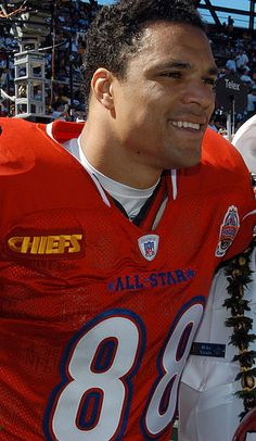 Tony Gonzalez--NFL Football Star who has appeared in numerous Pro Bowls