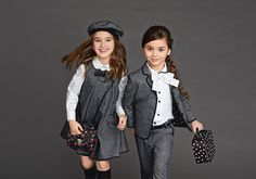 Dolce & Gabbana presents the Children Clothing Collection for Winter 2016, discover more details on Dolcegabbana.com.