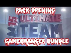 Gamechanger Bundle Madden 15 Ultimate Team