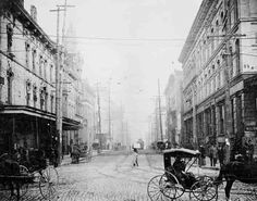 Madison and Front St., Memphis, Tenn. 1890