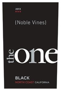 Noble Vines 2013 The One Black Red (North Coast) Rating and Review   Wine Enthusiast Magazine
