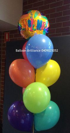 """""""Welcome"""" #anu #welcome #orientationweek #heliumballoons #heliumballoonscanberra #canberraballoons #BalloonBrilliance"""