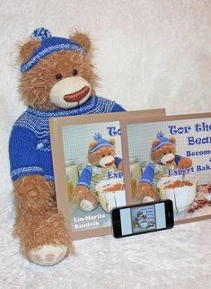 Tor the Bear - children's book about creating a cake without a recipe. Find out if baking can help be helpful against boredom, and get useful (?) baking tips. Create A Cake, Baking Tips, My Children, Childrens Books, Teddy Bear, Toys, Tips And Tricks, Kuchen