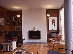 Erno Goldfinger's home at 2 Willow Rd, London