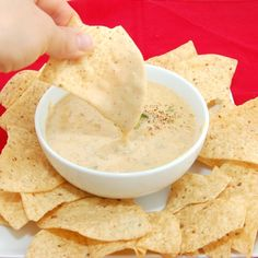 Don Pablos style queso blanco