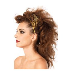 Accessorize your female warrior costume with this metal Pegasus Headband that features a gold finish and a pair of Pegasus wings on the sides. Perfect for Halloween, this headband is also great for making a bold fashion statement with everyday use. Medusa Halloween Costume, Halloween Costume Accessories, Pegasus, Female Warrior Costume, Greek Goddess Costume, Grecian Goddess, Costume Collection, Leg Avenue, Headbands For Women
