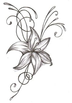 flower tattoo by joycesun 717x1024 customize your flower tattoo