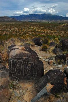 Three Rivers Petroglyph Site near Alamogordo New Mexico