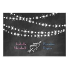 See MoreBlue & Pink Blackboard Twinkle Lights RSVP. Custom Invitationsso please read the important details before your purchasing anyway here is the best buy