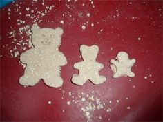 porridge playdough for Goldilocks and the 3 Bears