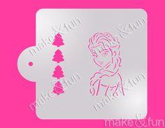 Torten Schablonen Frozen Stencil Pyo Cookie Stencil Cake Stencil