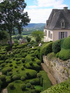 The Marqueyssac garden, France. | See More Pictures