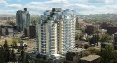 The Park Condos - Corner of 2nd Street & 13th Avenue SW, Calgary. For further details, pricing, available units, floorplans or to check out the show suite email jgwillim@cirrealty.ca